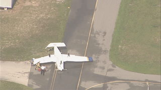 Severe storms flip planes in Titusville; scorching Tuesday ahead