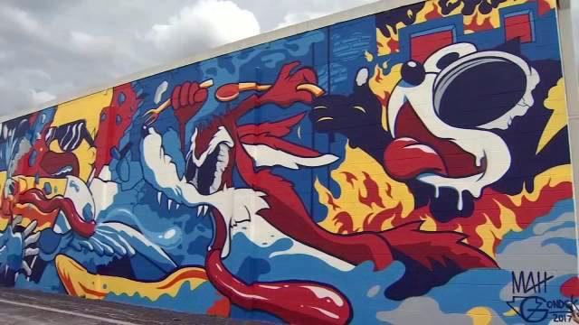 photos melbourne mural wftv