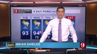 5-Day Forecast: Tuesday 6/12/18