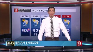 5-Day Forecast: Wednesday 6/13/18