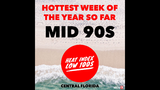 Another hot week across Central Florida, heat indices reaching the triple digits