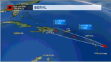 Tropical Storm Beryl to become a wave tonight