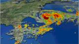 Satellite imagery, Chris 3pm Monday.