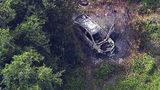 Video: Body discovered in burning car in Brevard County