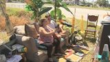 Couch caper: Abandoned sofa in Palm Bay becomes viral outdoor living room