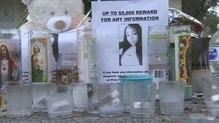 Friends, family of murdered pregnant woman go door-to-door looking for answers
