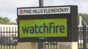 Pine Hills Elementary School will open its doors, just in time for classes.