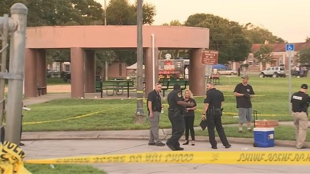 Police: Armed bystander takes down gunman at Titusville back to school event