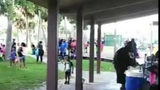 Raw video: Titusville park shooting at back-to-school event
