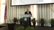 Mayor Buddy Dyer gives the State of the City address.