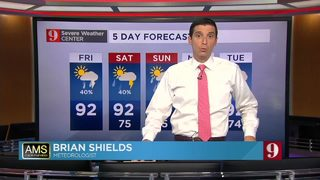 Afternoon storms this Weekend in Central Florida