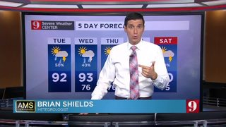 Summer pattern rolls on in Central Florida