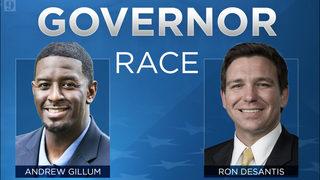 New poll gives Gillum an edge over DeSantis in Florida governor