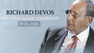Orlando Magic chairman Richard DeVos dies at 92