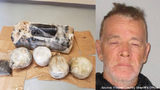 Robert Kelley was arrested for trying to take marijuana that washed up on a beach, deputies said. Photo source: Flagler County Sheriff's Office