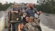 Wild Florida rescues family in North Carolina