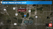 I-4 Ultimate: Princeton Street exit moved two miles back from previous location
