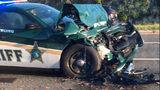 VIDEO: FHP: Man dies after deputy slams into back of pickup truck