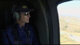 Video: Gov. Scott surveys hurricane damage