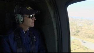 Video: Gov. Scott surveys hurricane damage