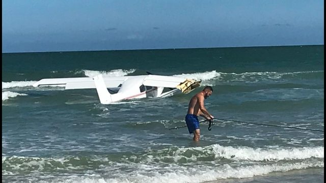 eac15742523 Small plane plunges into ocean near Daytona Beach Shores