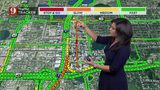WATCH: Detours for Orange Avenue during road closures