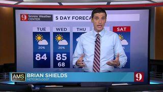 5 day forecast 10-23