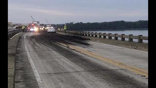 Sewage spill closes Lake County road