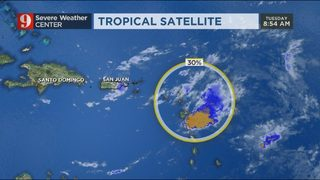 EYE ON THE TROPICS: Storm that could have been Patty starts to fall apart