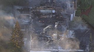 House destroyed by fire in Brevard County