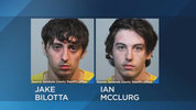 Jake Bilotta, 22, and Ian McClurg, 21, were arrested on charges of premeditated murder, deputies said.