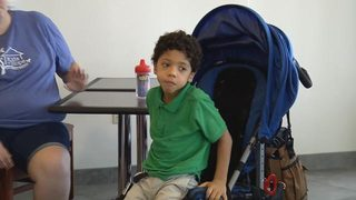 Meet Caleb: A boy with a lot of love to give who