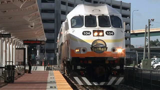SunRail train hits vehicle stopped on tracks in Orlando