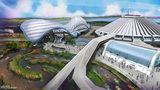 "Walt Disney World will open a new ""TRON"" roller coaster in Magic Kingdom's Tomorrowland. (Artist Rending - Source: Walt Disney Company)"
