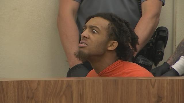 Man accused of Daytona Beach double murder denied bail, screams in court
