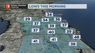 Central Florida chill