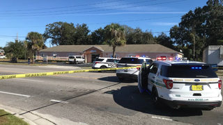 Day care worker hit by stray bullet at Orlando prep academy, officials say