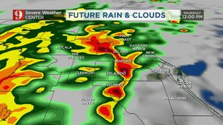 Major storm system nears