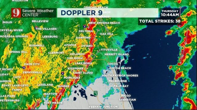 Severe Storms Thursday To Bring Cooler Weather Through Weekend Wftv