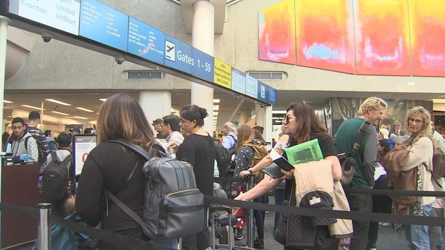Airports brace for busiest part of holiday travel season, officials say