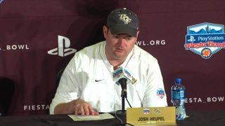 Josh Heupel on UCF loss in Fiesta Bowl