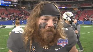 UCF Punter Mac Loudermilk after Fiesta Bowl loss