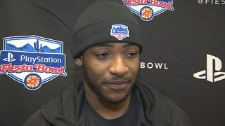 UCF QB Darriel Mack Jr. Fiesta Bowl sound