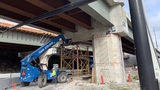 Video: I-4 bridge at Colonial Drive in Orlando opens to traffic despite cracked pier