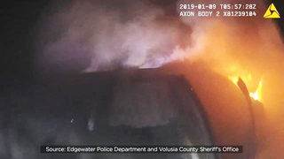 Officer in crash rescue video: