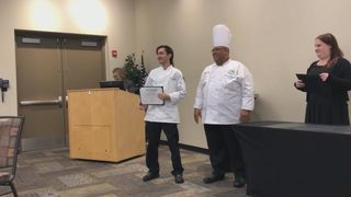 Video: Culinary grads help feed those in need