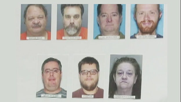 MARION COUNTY SEX TRAFFICKING: 7 arrested after missing