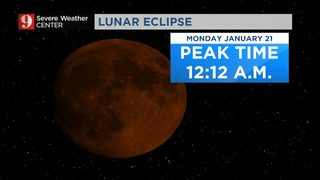 Lunar Eclipse coming this weekend; visible in Central Florida!