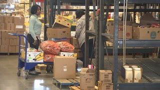 Central Florida food bank sees spike in necessity amid government shutdown