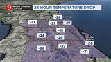 Chilly weather across Central Florida -- and this is just the beginning
